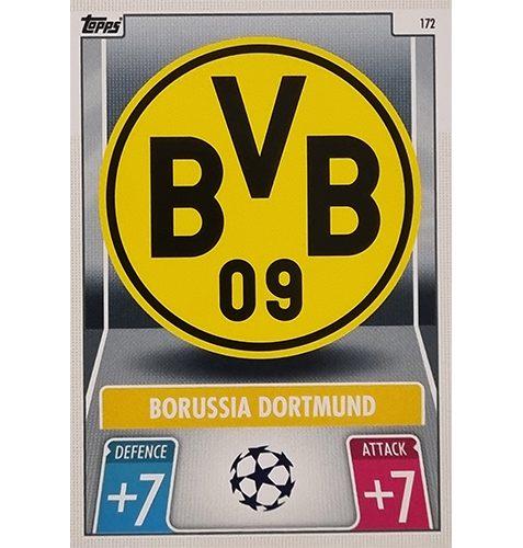 Topps Champions League 2021/2022 Nr 172 Borussia Dortmund Team Badge