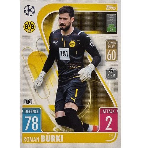 Topps Champions League 2021/2022 Nr 173 Roman Bürki