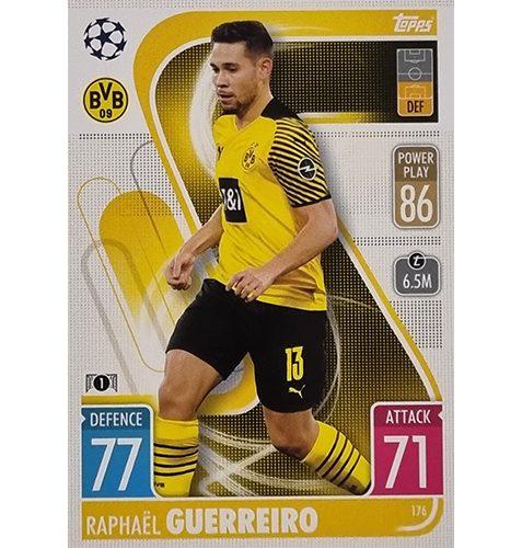 Topps Champions League 2021/2022 Nr 176 Raphael Guerreiro