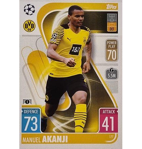 Topps Champions League 2021/2022 Nr 177 Manuel Akanji