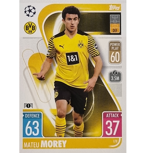 Topps Champions League 2021/2022 Nr 178 Mateu Morey