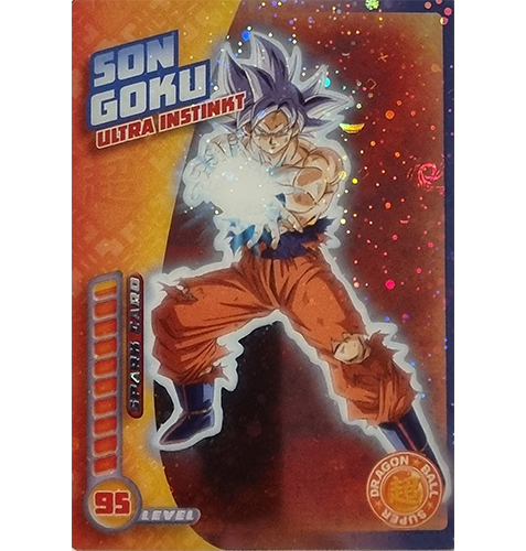 Panini Dragon Ball Super Trading Cards Nr 018 Son Goku Ultra Instinkt