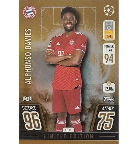 Topps Champions League 2021/2022 LE 18 Alphonso Davies
