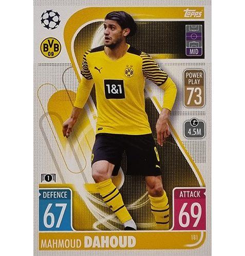 Topps Champions League 2021/2022 Nr 181 Mahmoud Dahoud