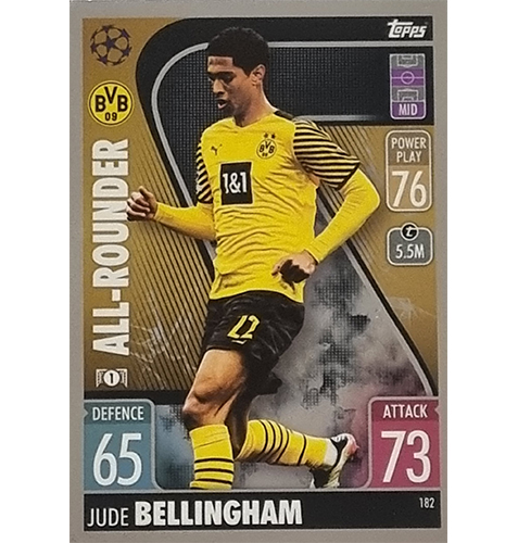 Topps Champions League 2021/2022 Nr 182 Jude Bellingham