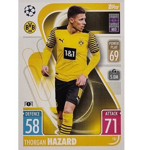 Topps Champions League 2021/2022 Nr 183 Thorgan Hazard