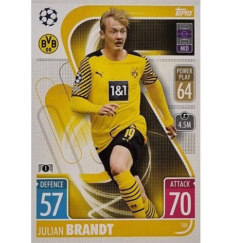 Topps Champions League 2021/2022 Nr 184 Julian Brandt