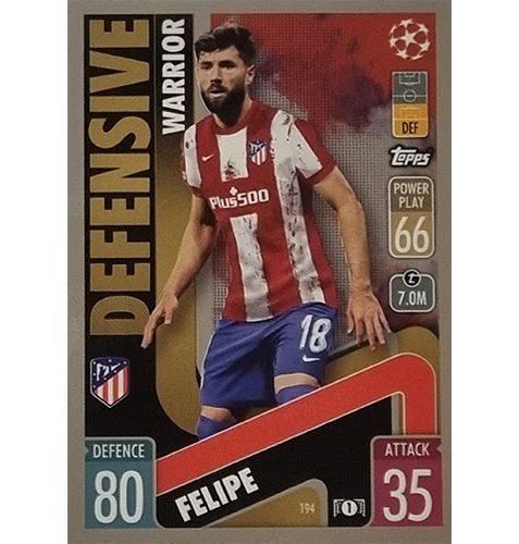 Topps Champions League 2021/2022 Nr 194 Felipe