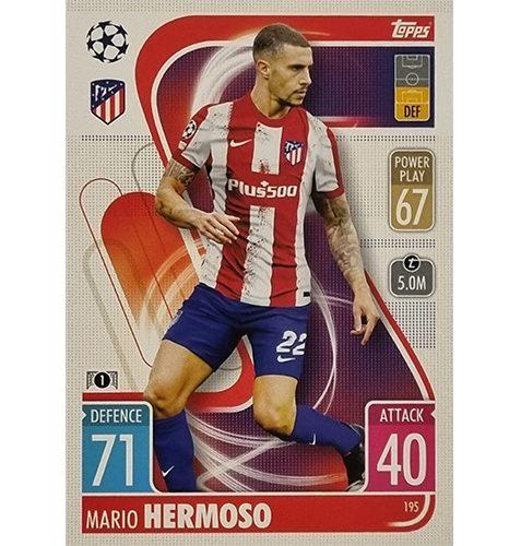 Topps Champions League 2021/2022 Nr 195 Mario Hermoso