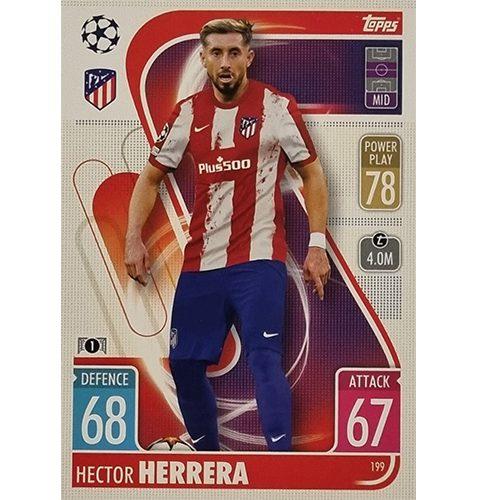 Topps Champions League 2021/2022 Nr 199 Hector Herrera