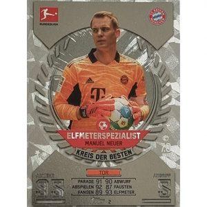 Topps Match Attax Bundesliga 2021/22 Nr 002 Manuel Neuer
