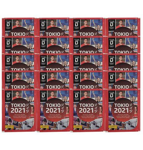 Panini Team Deutschland Teil 2 Tokio 2021 Sticker 20x Tüten