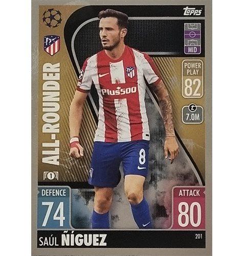 Topps Champions League 2021/2022 Nr 201 Saul Niguez