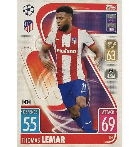 Topps Champions League 2021/2022 Nr 204 Thomas Lemar