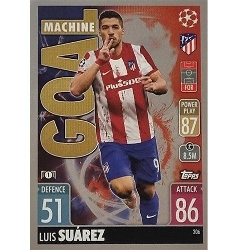 Topps Champions League 2021/2022 Nr 206 Luiz Suarez