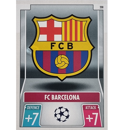 Topps Champions League 2021/2022 Nr 208 FC Barcelona Team Badge
