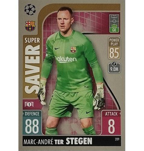 Topps Champions League 2021/2022 Nr 209 Marc Andre Ter Stegen
