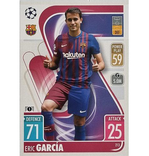 Topps Champions League 2021/2022 Nr 213 Eric Garcia