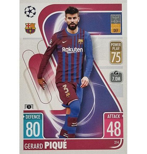 Topps Champions League 2021/2022 Nr 214 Gerard Pique