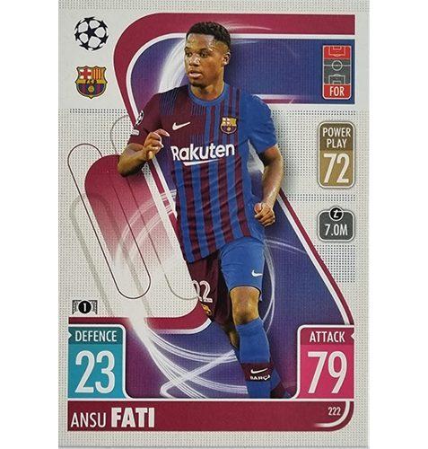 Topps Champions League 2021/2022 Nr 222 Ansu Fati