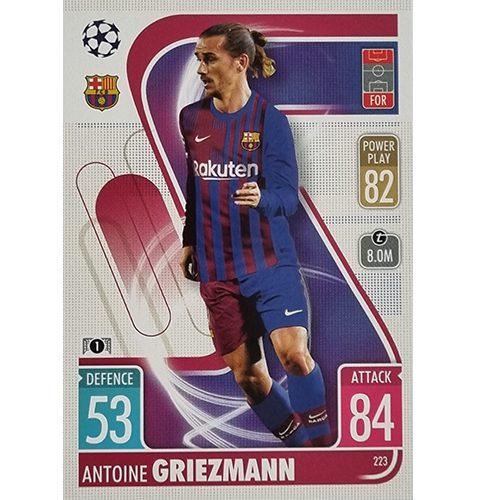 Topps Champions League 2021/2022 Nr 223 Antoine Griezmann
