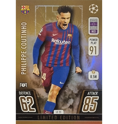 Topps Champions League 2021/2022 LE 23 Philippe Coutinho