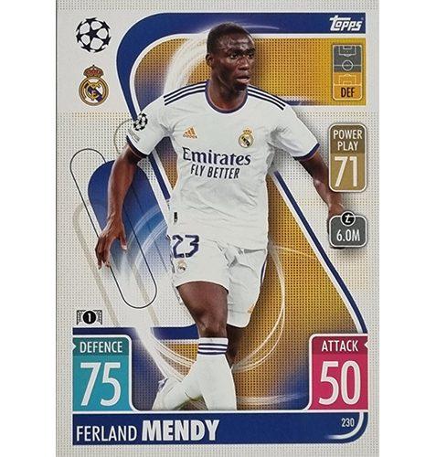 Topps Champions League 2021/2022 Nr 230 Ferland Mendy