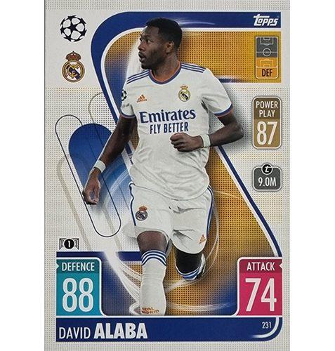 Topps Champions League 2021/2022 Nr 231 David Alaba