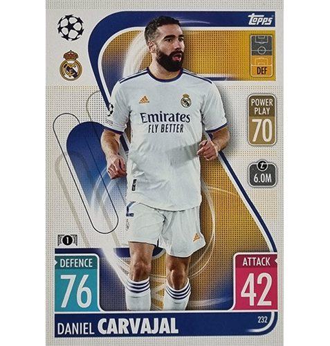 Topps Champions League 2021/2022 Nr 232 Daniel Carvajal