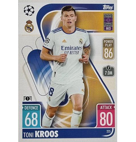 Topps Champions League 2021/2022 Nr 235 Toni Kroos