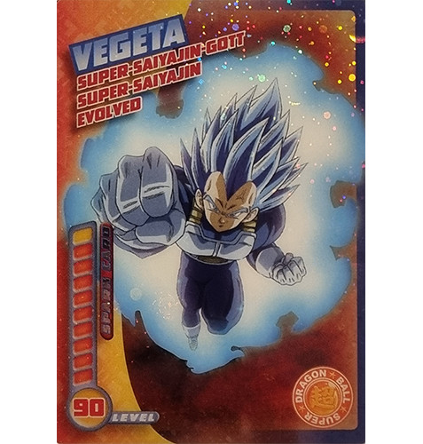 Panini Dragon Ball Super Trading Cards Nr 024 Vegeta Super Saiyajin Gott Super Saiyajin Evolved