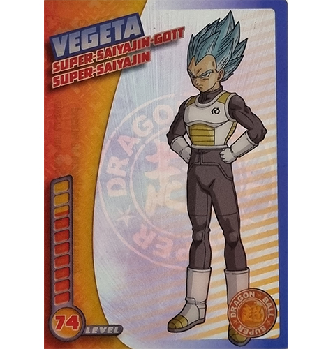 Panini Dragon Ball Super Trading Cards Nr 025 Vegeta Super Saiyajin Gott Super Saiyajin