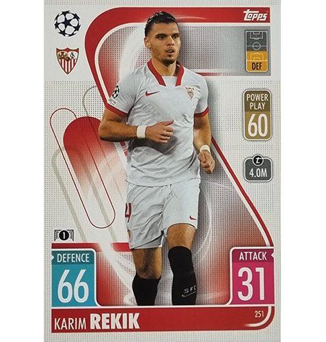 Topps Champions League 2021/2022 Nr 251 Karim Rerik