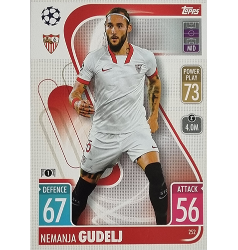 Topps Champions League 2021/2022 Nr 252 Nemanja Gudelj