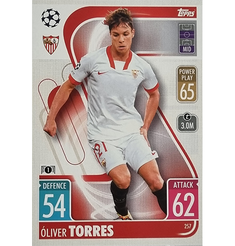 Topps Champions League 2021/2022 Nr 257 Oliver Torres