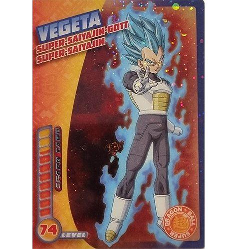 Panini Dragon Ball Super Trading Cards Nr 026 Vegeta Super Saiyajin Gott Super Saiyajin