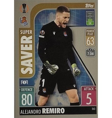 Topps Champions League 2021/2022 Nr 263 Alejandro Remiro