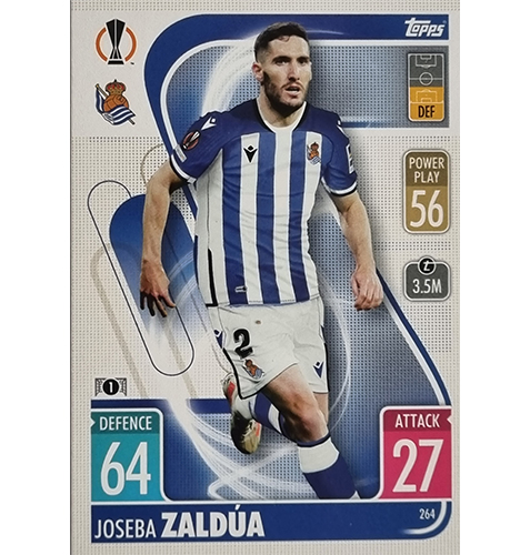 Topps Champions League 2021/2022 Nr 264 Joseba Zaldua