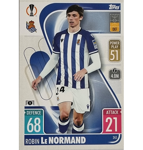 Topps Champions League 2021/2022 Nr 265 Robin Le Normand