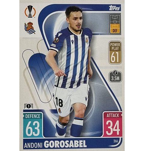 Topps Champions League 2021/2022 Nr 266 Andoni Gorosabel