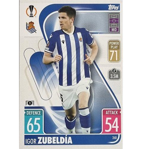 Topps Champions League 2021/2022 Nr 268 Igor Zubeldia