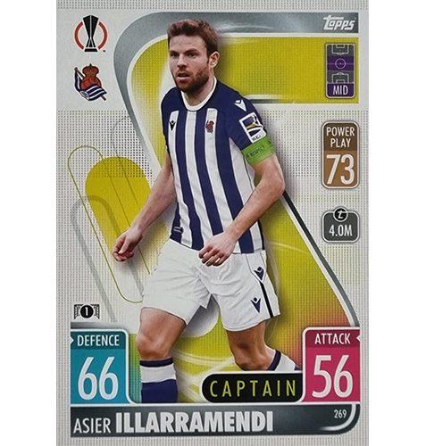 Topps Champions League 2021/2022 Nr 269 Asier Illarramendi