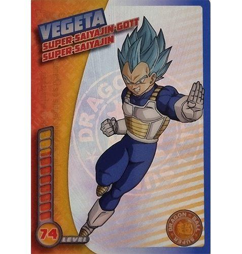 Panini Dragon Ball Super Trading Cards Nr 027 Vegeta Super Saiyajin Gott Super Saiyajin