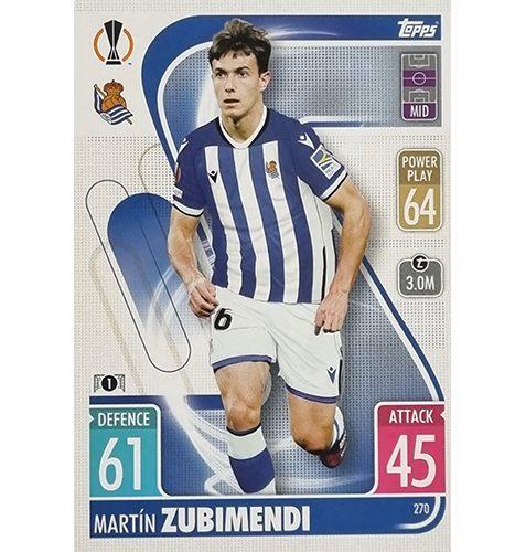 Topps Champions League 2021/2022 Nr 270 Martin Zubimendi