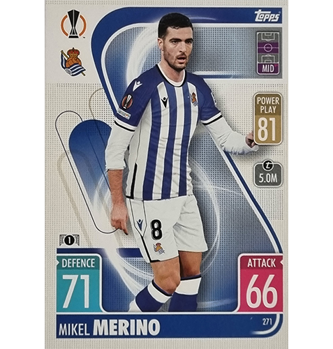 Topps Champions League 2021/2022 Nr 271 Mikel Merino