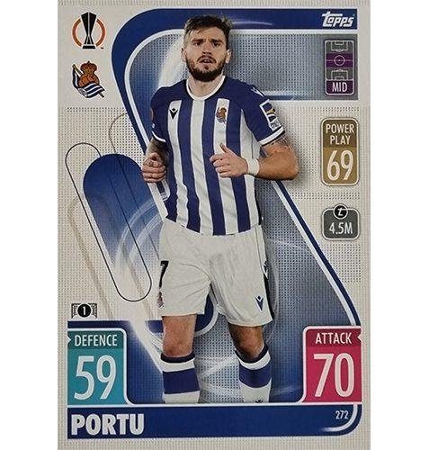 Topps Champions League 2021/2022 Nr 272 Portu