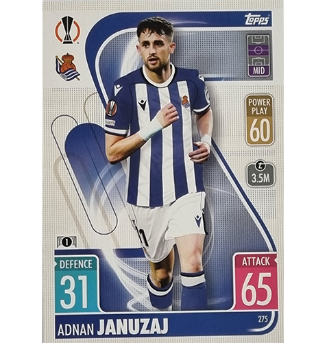Topps Champions League 2021/2022 Nr 275 Adnan Januzaj