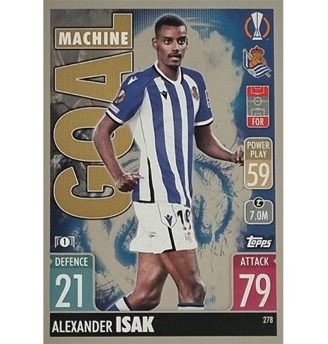 Topps Champions League 2021/2022 Nr 278 Alexander Isak