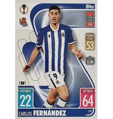 Topps Champions League 2021/2022 Nr 279 Carlos Fernandez