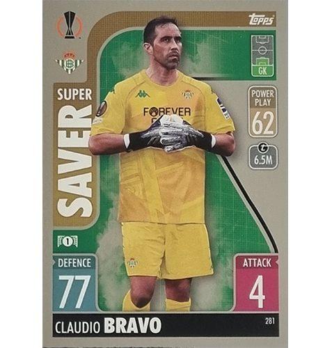 Topps Champions League 2021/2022 Nr 281 Claudio Bravo